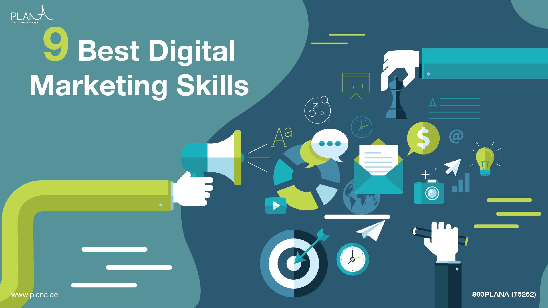 9 Best Digital Marketing Skills That Companies Look For