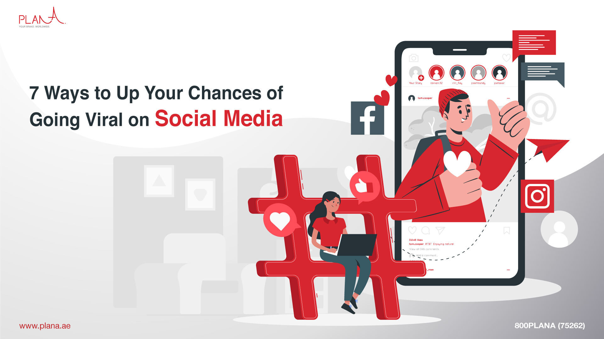 7 Ways to Up Your Chances of Going Viral on Social Media
