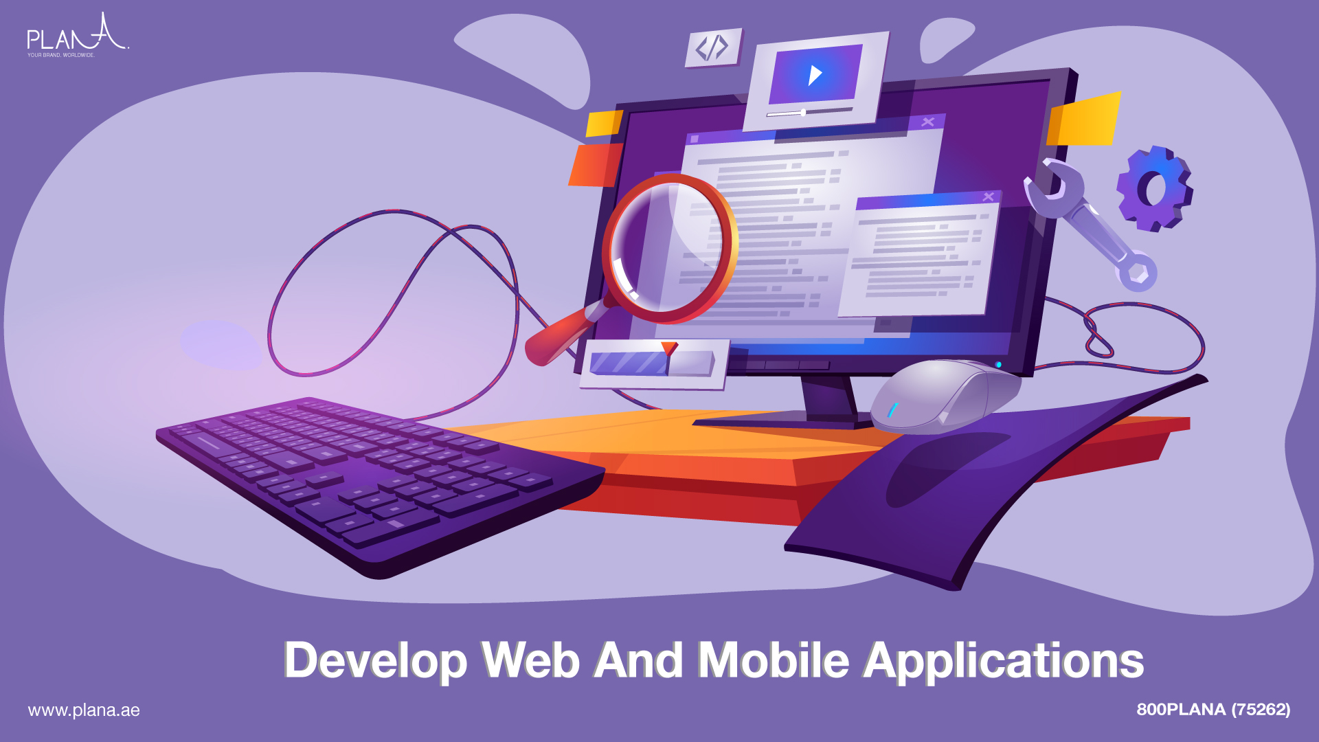 How do I find a company to develop web, and mobile applications in Dubai?