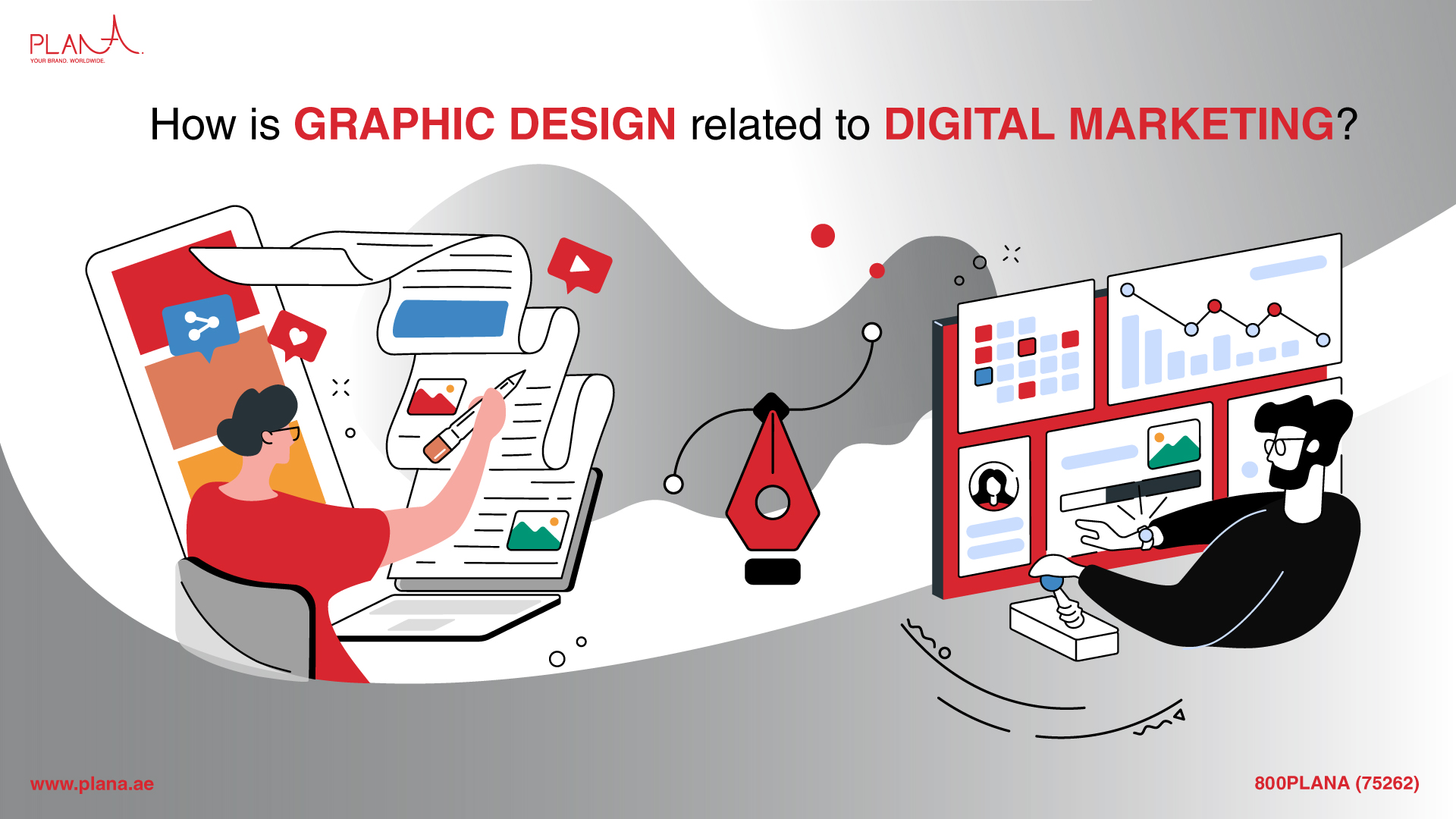 How Is Graphic Design Related to Digital Marketing?