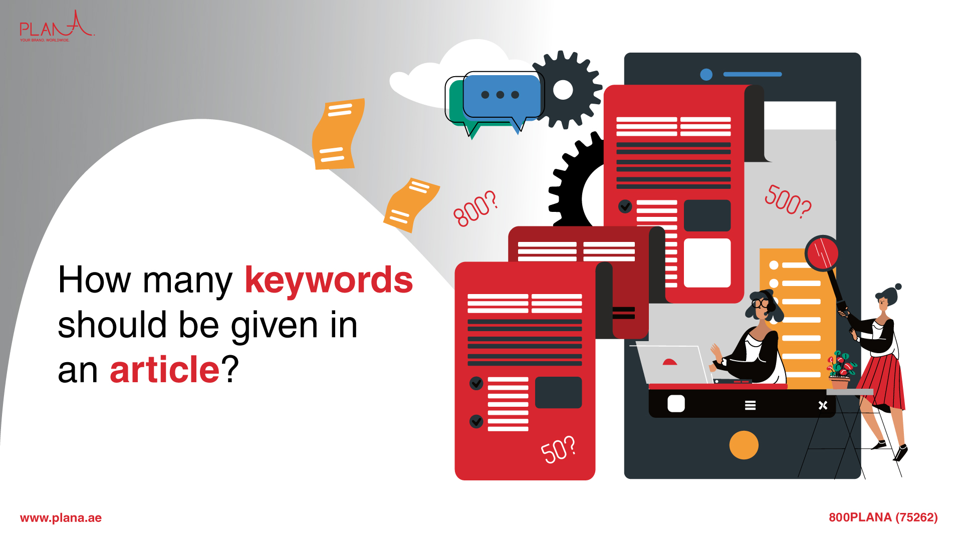 How Many Keywords Should be Given in an Article?