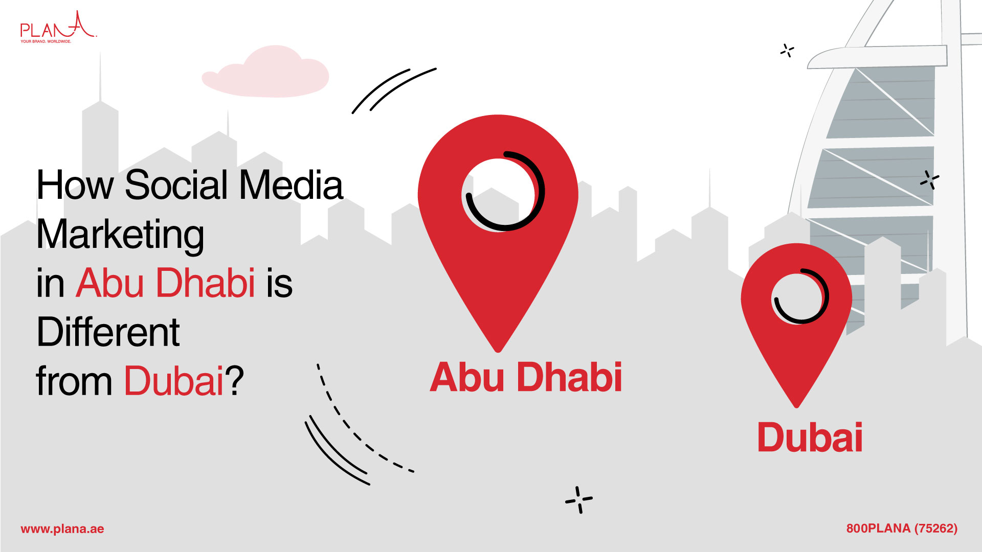 How Social Media Marketing in Abu Dhabi Is Different from Dubai?