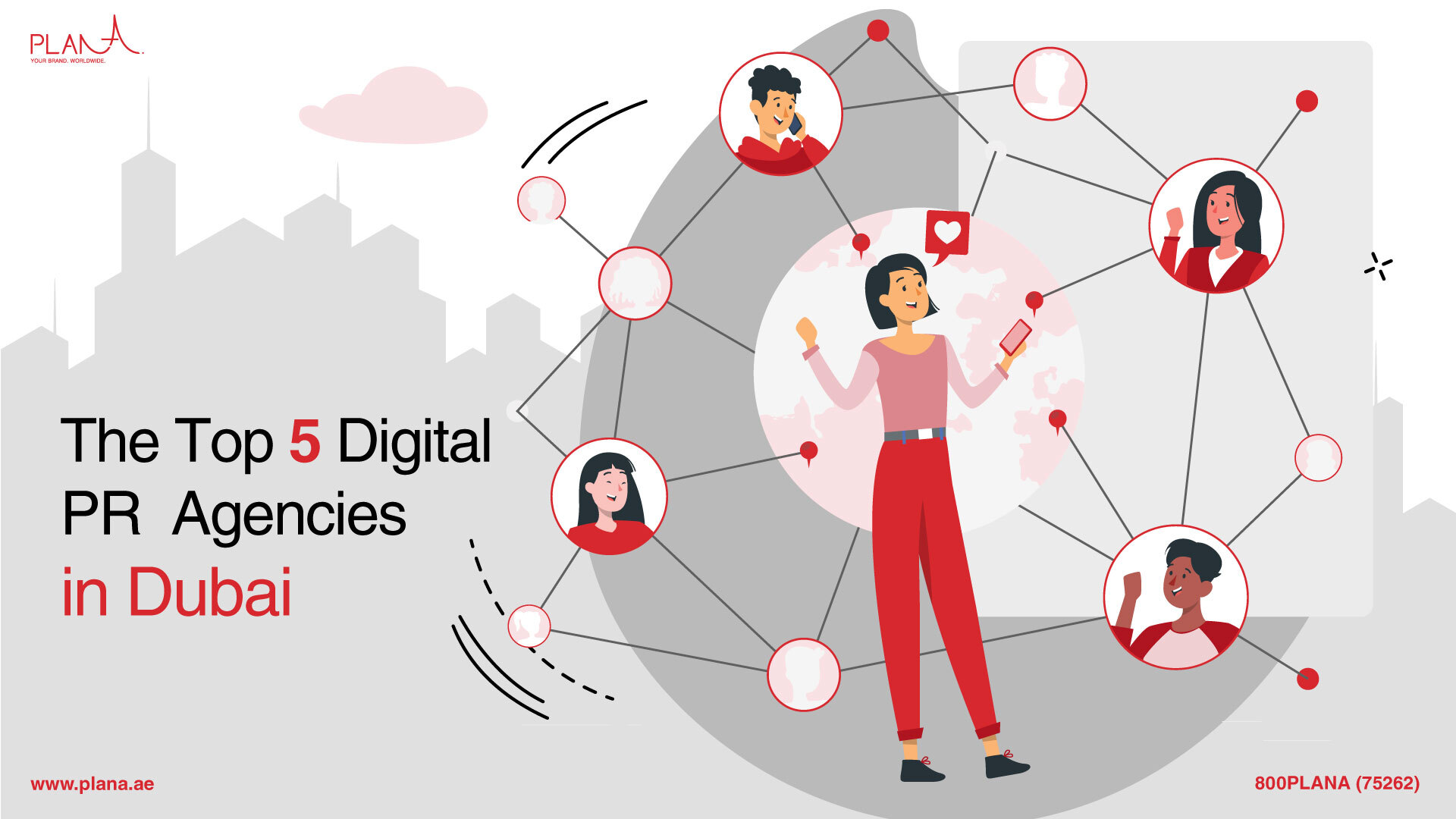 The Top 5 Digital PR Agencies in Dubai