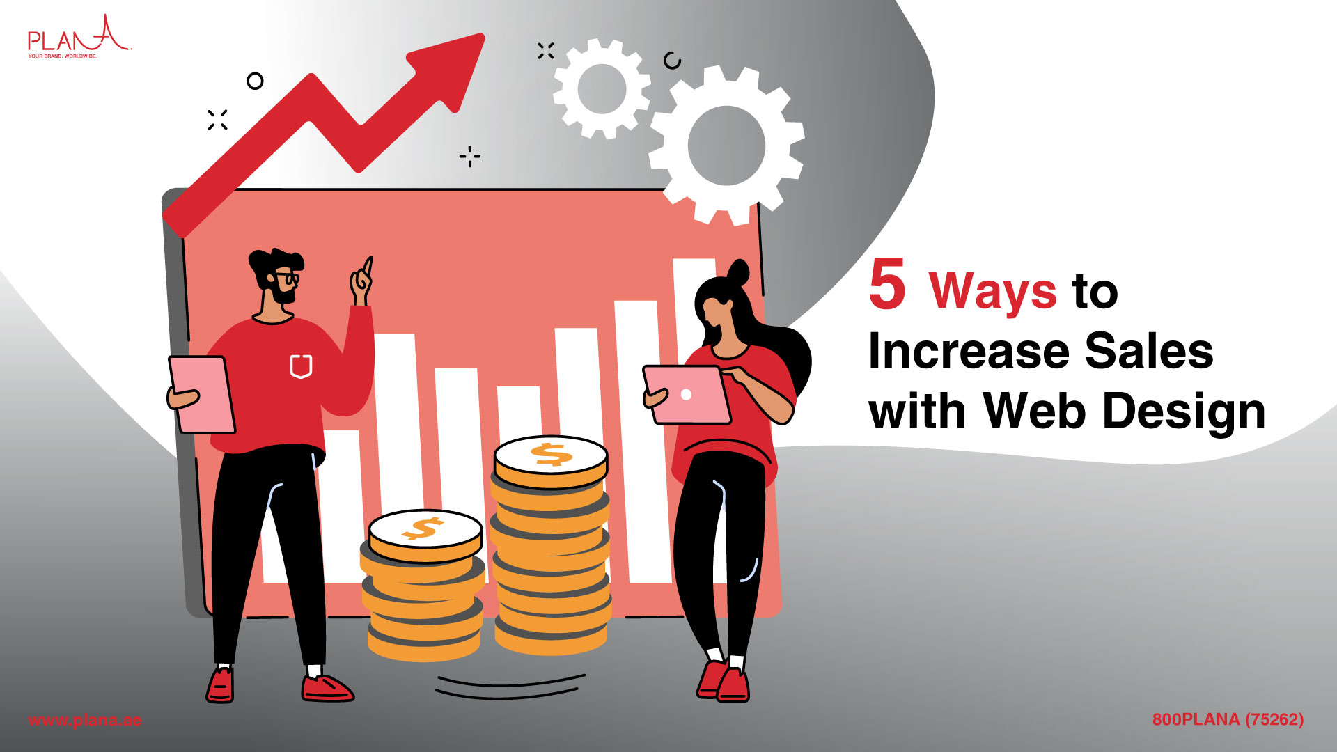 5 Ways to Increase Sales with Web Design