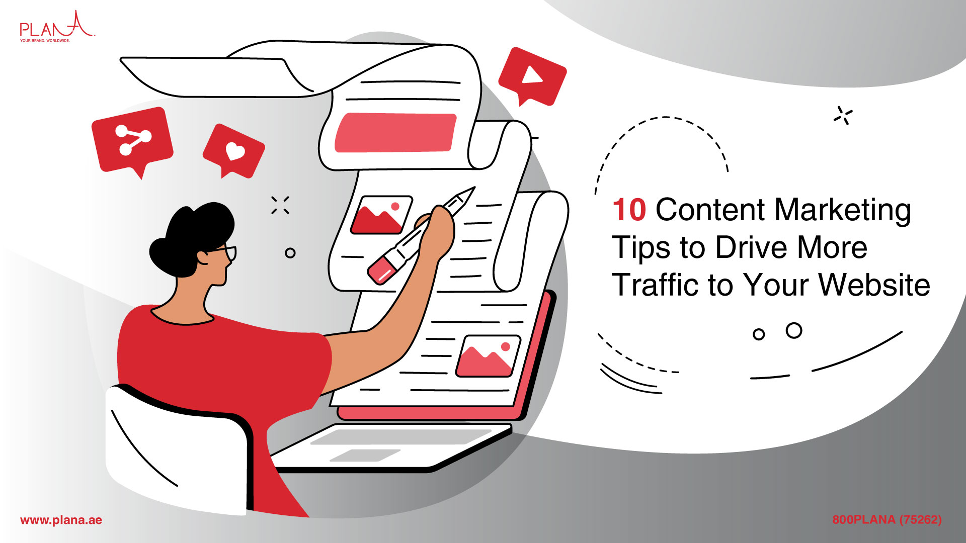 10 Content Marketing Tips to Drive More Traffic to Your Website